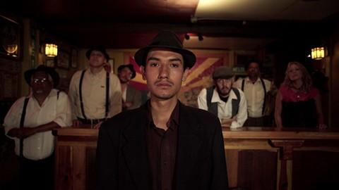 Fernando Serrano re-enacts an infamous day in Bisbee '17
