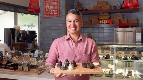 Andreas Ozzuna, the chef and owner of Wooden Table Baking Co. - PHOTO BY LANCE YAMAMOTO