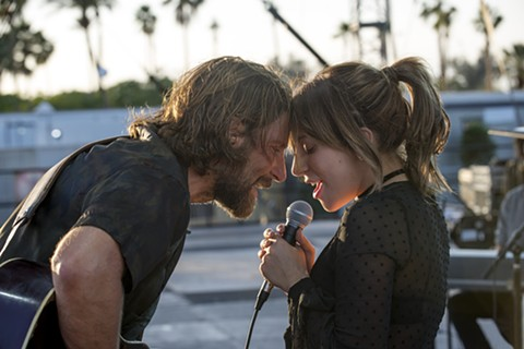 Bradley Cooper and Lady Gaga live the high life in A Star Is Born.