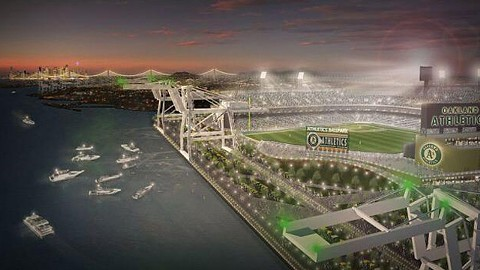 The Howard Terminal site got a boost last week when Gov. Jerry Brown signed AB 734, a state bill that will speed up the review process for lawsuits that might be filed over construction on the waterfront.