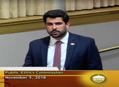 Public Ethics Commission Deputy Director Milad Dalju said that outside law enforcement agencies are investigating corruption in Oakland's planning and building department.