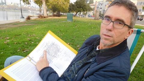 Mark Brustman says he's not trying to block new development. - PHOTO BY DARWIN BONDGRAHAM