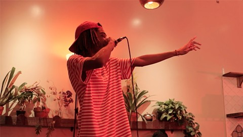 Shino Smoke performed at the first Red Room Project live event. - PHOTO COURTESY OF IDO BARTANA