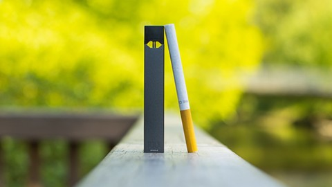 Teens who use JUUL are more likely to turn to cigarettes. - PHOTO BY NODERIVS 2.0 GENERIC (CC BY-ND 2.0)