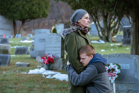 Julia Roberts and Lucas Hedges star in Ben Is Back. - PHOTO BY MARK SCHAFER, COURTESY LD ENT/ROADSIDE ATTRACTIONS