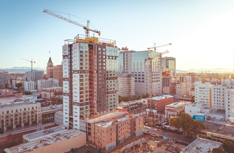 Oakland has 8,641 units of housing under construction. - FILE PHOTO BY STEPHEN LOEWINSOHN