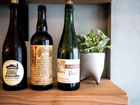 Redfield Cider & Bottle Shop will offer about 150 bottled ciders. - PHOTO COURTESY OF REDFIELD