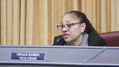 Harris has clashed with the city administration and commission staff. - PHOTO BY DARWIN BONDGRAHAM