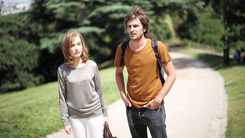 Isabelle Huppert and Roman Kolinka star in Things To Come.