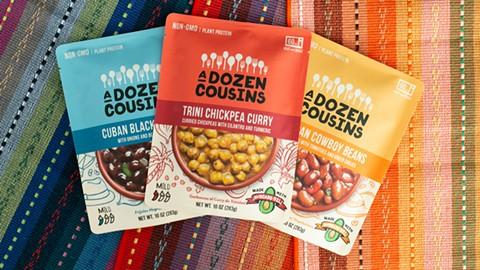 Three types of beans from a dozen cousins. - PHOTO COURTESY OF A DOZEN COUSINS