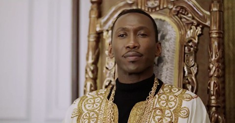 Mahershala Ali in Green Book.