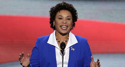 Rep. Barbara Lee is the lead sponsor of the Marijuana Justice Act.