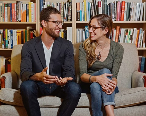 Adam and Ashley appreciate the subscription model as a potential community-building tool - JENNIFER BAQUING