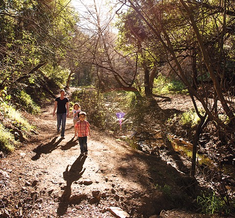 Hiking with kids can be an adventure and takes no planning. - PHOTO BY PAT MEZZERA