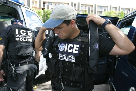 There were no reports of ICE agents in the Bay Area over the weekend, despite President Trump's warning on Friday. - WIKIMEDIA COMMONS