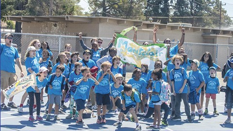 Town Camp has provided camp access to kids from all across Oakland. - PHOTO BY DIEGO AGUILAR-CANABAL