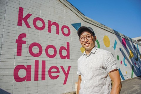 George Dy is the producer of KONO Food Alley. - PHOTO BY TAMMY CHUNG @YMMATAMMY