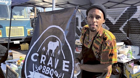 Rashad Armstead uses family recipes. - PHOTO COURTESY OF CRAVE BBQ
