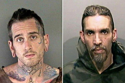 Ghost Ship defendants Max Harris and Derick Almena.