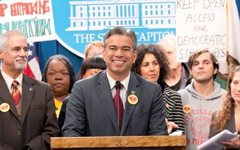 Assemblymember Rob Bonta co-authored a bill approved Tuesday that gives local control for approving charter schools.