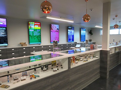 San Leandro first approved dispensaries back in 2015, but Blum San Leandro was the first to open its doors earlier this year. - CITY OF SAN LEANDRO