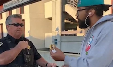 Video of an African American man being detained for eating a sandwich on the Pleasant Hill BART station train platform went viral last week.