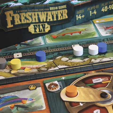 Freshwater Fly works as both a game and a puzzle.