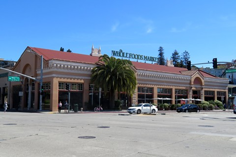 "Protesters held a ""sidewalk fast"" last Wednesday through Thanksgiving afternoon at the Whole Foods in Oakland. - WIKIMEDIA COMMONS"