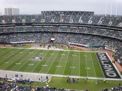 The Oakland Coliseum has been the Raiders home for most of its 60 years of existence. - WIKIMEDIA COMMONS