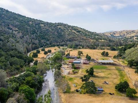 A portion of the N3 Ranch that could become part of the state parks system, running through Livermore in Alameda County. - REALTOR.COM