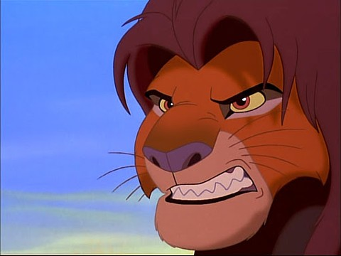 Simba from the Lion King, not Disney's director of licensing.