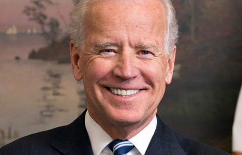 Democratic presidential candidate Joe Biden visiting Oakland on Tuesday morning.