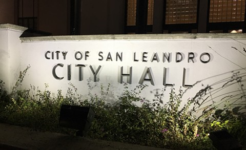 San Leandro officials narrowly voted to shift money from its police department to social programs and services. - STEVEN TAVARES