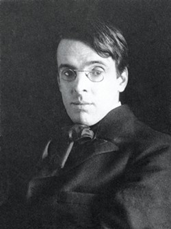W.B. Yeats: A gaze as black and pitiless as the sun. - PHOTO BY ALICE BROUGHTON