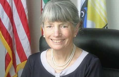 Between stints in elected office, former Alameda County Supervisor Gail Steele founded the Eden Youth Center. - FILE PHOTO