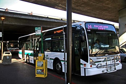 AC Transit is losing $5 million in lost fare revenue each month during the pandemic, officials said. - FILE PHOTO