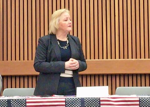 Alameda County District Attorney Nancy O'Malley. - STEVEN TAVARES
