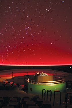 SPACED: Chabot Space & Science Center offers private dinners with a view. - COURTESY OF WIKIMEDIA