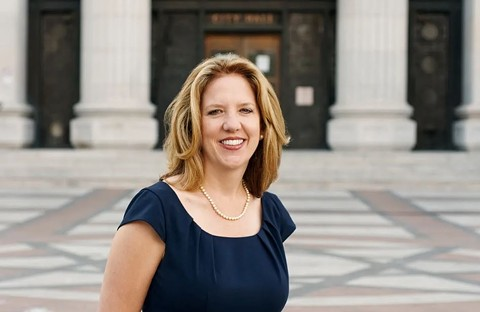 Oakland City Auditor Courtney Ruby. - FILE PHOTO