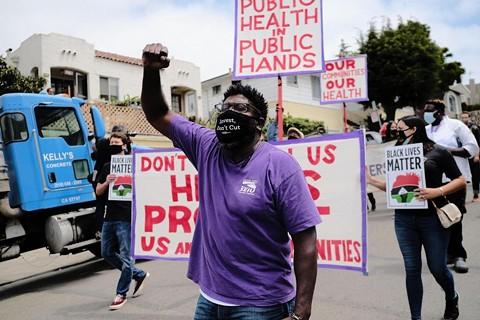 Alameda Health System operates Highland Hospital in Oakland, along with San Leandro Hospital, and Alameda Hospital. - SEIU LOCAL 1021