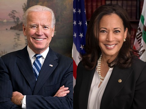 President-elect Joe Biden and Vice-President-elect Kamala Harris. - WIKIMEDIA COMMONS