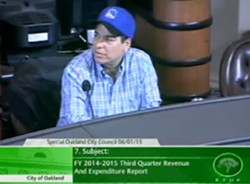 Councilmember Rebecca Kaplan questioned police overtime spending at a June 1 meeting of the Oakland City Council.