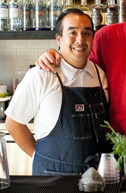 Nate Gabriel, pictured here during his stint at Jack's Oyster Bar, will be the chef de cuisine. - BERT JOHNSON / FILE PHOTO