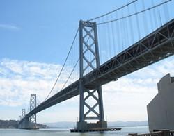 The old Bay Bridge. - ALLAN FERGUSON
