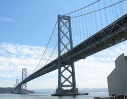 The old Bay Bridge. - ALLAN FERGUSON
