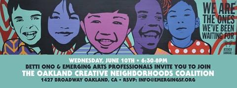 Courtesy of the Oakland Creative Neighborhoods Coalition.