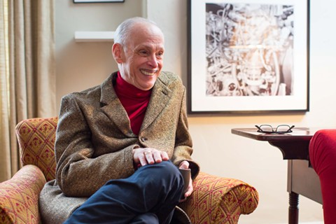 John Waters at home in San Francisco. - BERT JOHNSON
