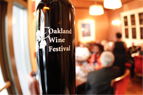 The first ever Oakland Wine Festival will bring high-profile wineries from Napa and Sonoma to the Town — many of them for the first time. - OAKLAND WINE FESTIVAL