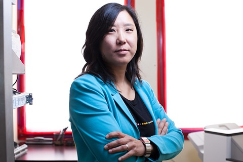 Ann Cheng of TransForm. - PHOTO BY BERT JOHNSON