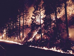 The Rough Fire is one of three major blazes still burning in the state.